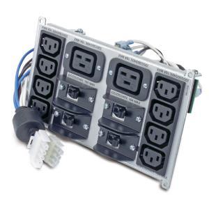 Smart UPS Output Pdu Connections - 8x Iec 320 C13/ 2x Iec 320 C19 (sypd4)