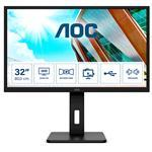 Desktop Monitor - Q32P2 - 31.5in - 2560x1440 (WQHD) - IPS 4ms