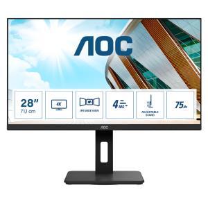 Desktop Monitor - U28P2A - 28in - 3840x2160 (4K UHD) - 4ms IPS Speakers