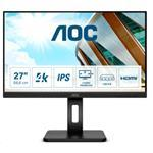 Desktop Monitor - U27P2CA - 27in - 3840x2160 (4K UHD) - Black - IPS 4ms