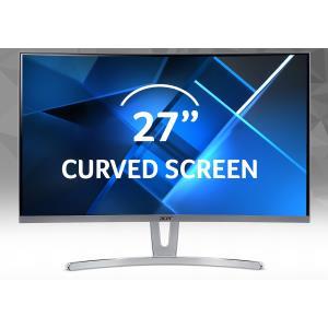 Curved Monitor - Ed273 Widx - 27in - 1920 X 1080 (full Hd) - Va 4ms 16:9 LED Backlight Zero Frame