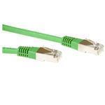 CAT6 Sstp Lszh Patch Cable Green 3m